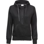 TeeJays naisten Fashion Full Zip Huppari Black