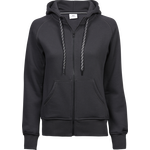TeeJays naisten Fashion Full Zip Huppari Dark Grey