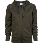 TeeJays naisten Fashion Full Zip Huppari Dark Olive